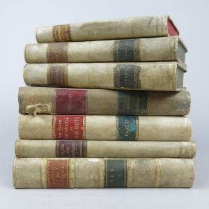 Vellum bindings (Lot 1)