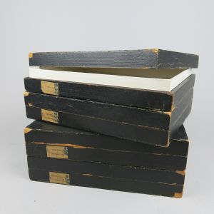 Collector's specimen boxes