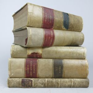 Vellum bindings (Lot 4)