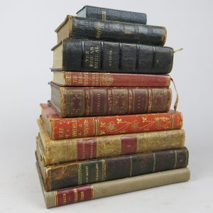 Leather bindings (Lot 1)