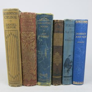 Cloth bindings (Lot 8)