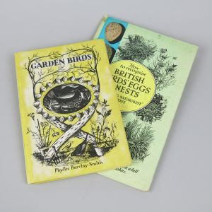 Garden birds & nests books x 2