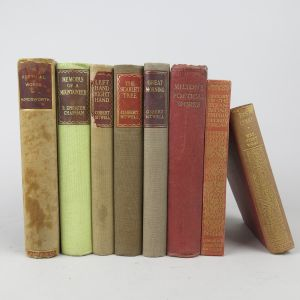 Cloth bindings (Lot 13)
